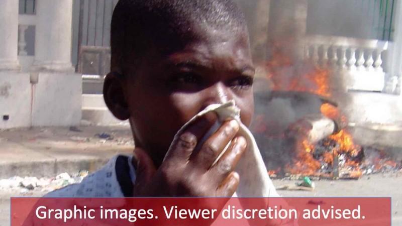 Violence fuels crisis in Haiti