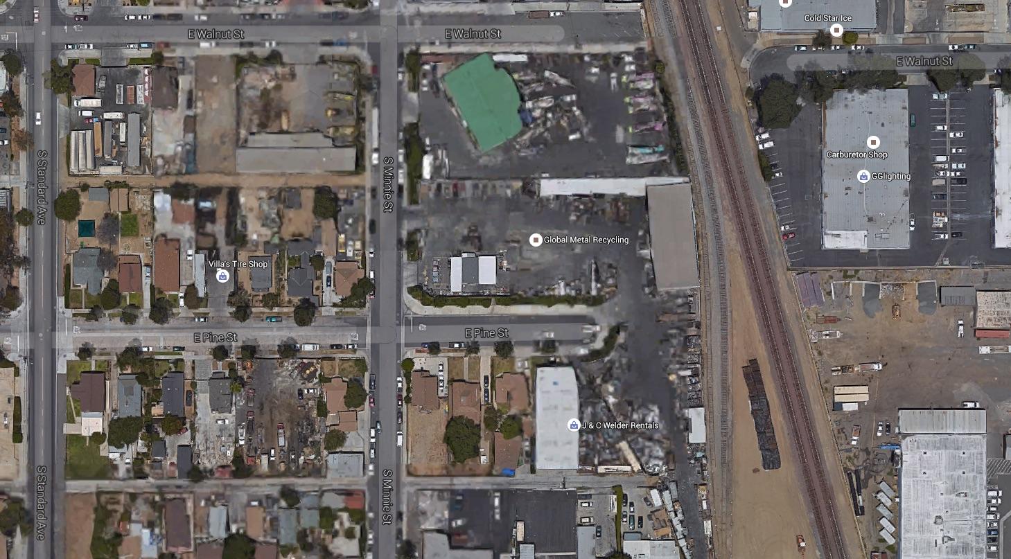 Minnie Street in Santa Ana, Calif.
