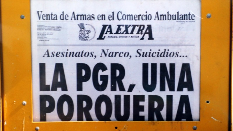 Mexico fights its own police in drug war