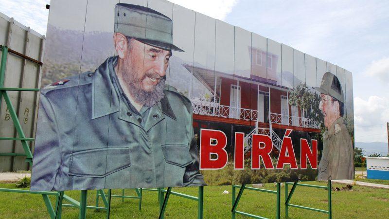 Supporters Defend Castro